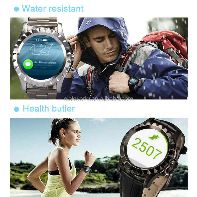 T2/S2 Bluetooth Waterproof IP67 Fitness Tracker Smart Watch