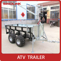 ATV Log Trailer With Crane(manual or electric)