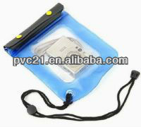 drawstring waterproof pvc camera bags for body guard