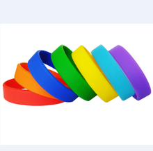 Nice mini colorful 22mm silicone rubber band