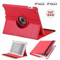 For iPad 2 3 4 Rotating Leather Case