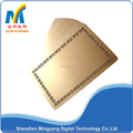 0.45mm sublimation blank card metal business card