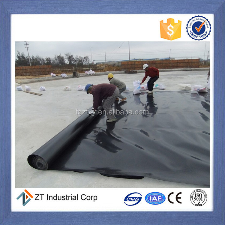 ASTM geomembrane hdpe geomembrane waterproof membrane for roof