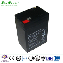 shenzhen first power 6v 4ah rechargeable lead acid toys battery