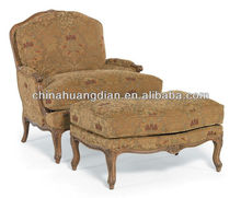 HDL1053 foshan huangdian antique chaise lounge chair