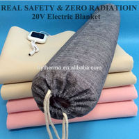 20V portable PTC material Heating electric blanket with good effect