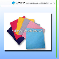 Super soft lint free logo printed microfiber lens cleaning cloth