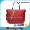 Red polyester European Style 2015 new travel bag for women