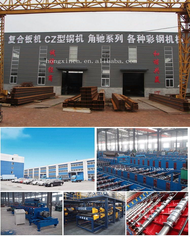 galvanied roll formers building material machinery