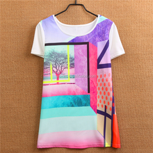Comfortable cotton best friends t shirt lady Screen t-shirt printing machine prices in india