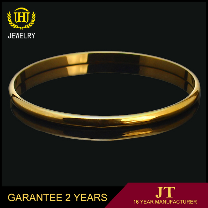 cheap algeria 18k pure gold plated bangles jewellery