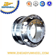 tubeless aluminum wheel rim for heavy truck 22.5x9.00 alloy wheel