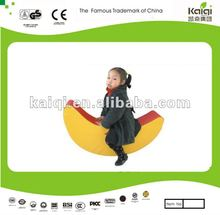 Children like indoor soft play toys/moon riding for kids have fun