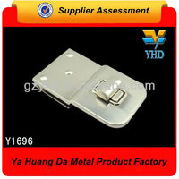 shinny metal turn lock bag buckle Y1696