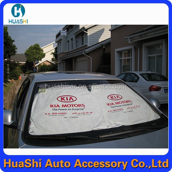 130*60 front window car sun shade car mesh sun screen ofset 2 colores new