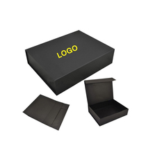 High quality magnetic closure flat folding cardboard gift box collapsible box
