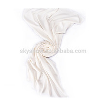 White Cashmere scarf for fashion lady