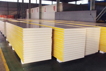 Types of models thermal insulation PU sandwich panel,polyurethane sandwich,suitable for many constructions