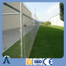 Anping good supplier sell 4ft / 5ft / 6ft / 7ft / 8ft galvanized and PVC coated chain link wire mesh fence / fencing.