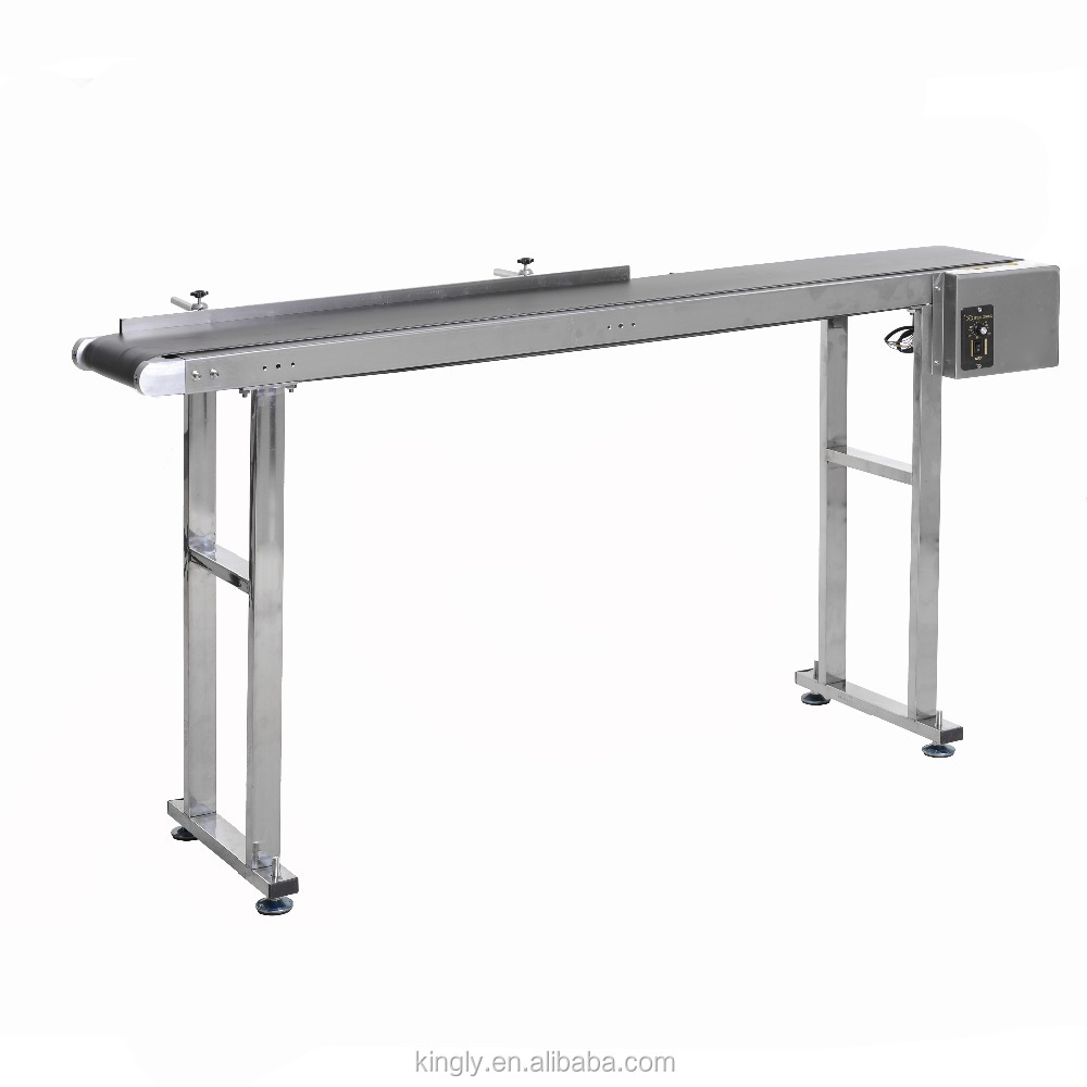Factory Supply Mini Belt Conveyor <strong>System</strong> For Inkjet Coding Machine