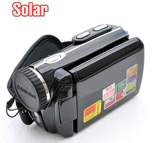 Dual Solar Charge Digital Camcorder Video Camera 12MP 8X Zoom (DW-DV-T90+)