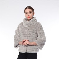 2016 Latest Deisgn Wholesale Eco-Friendly Luxury Faux Fur Coats