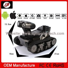2014 best design ! remote control metal military battery operated tank toy with one year warranty and factory price