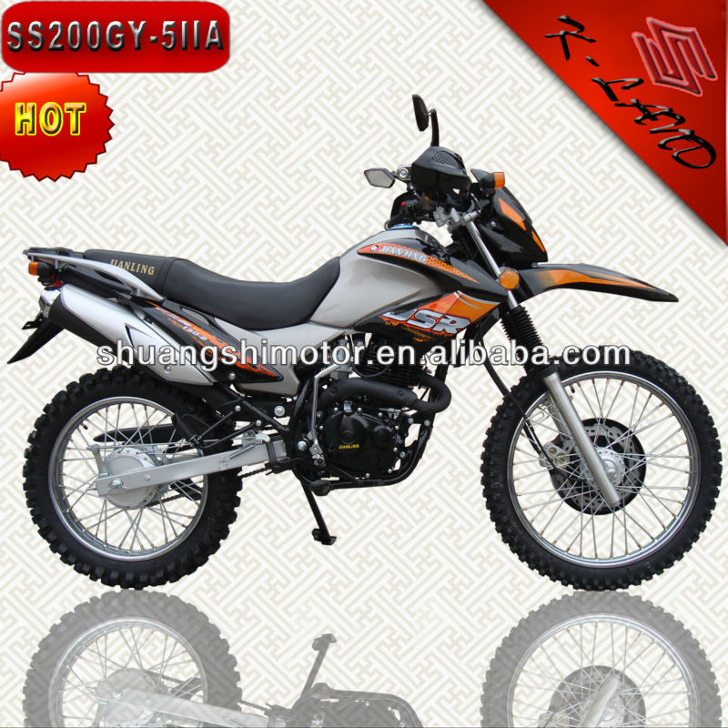 China fashion motocicleta 200cc electric start (SS200GY-5IIA)