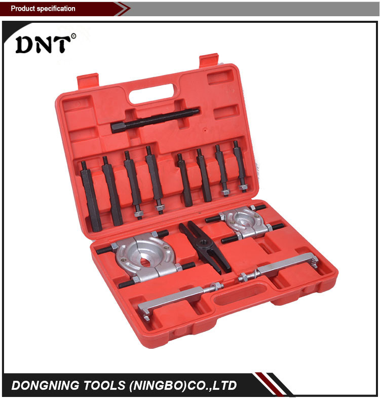 DN-D1013 SAE5140 Steel dropped forging 14Pc Bearing Separator And Puller Tool Set