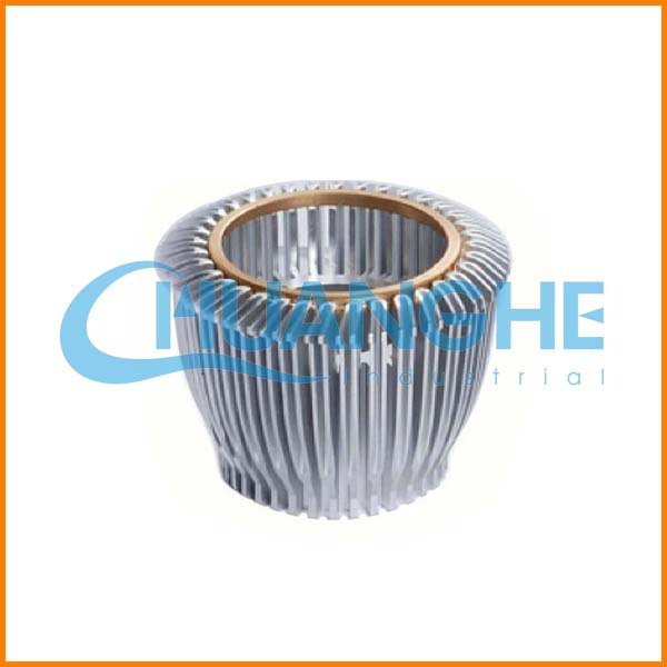 China new product aluminum heatsink led round