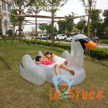 Hot selling factory price inflatable swan pool float