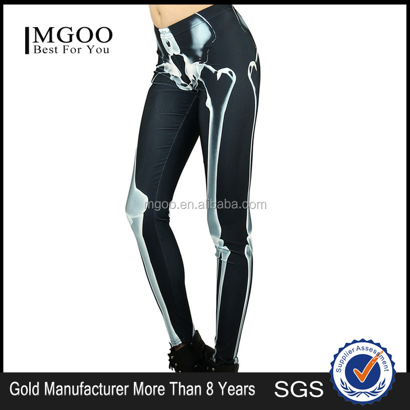 MGOO Fashion Customised 88 Polyester 12 Spandex Leggings For Women Your Own Tags 100 pieces Minimum quantity