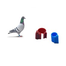 125KHz RFID Racing Pigeon Ring