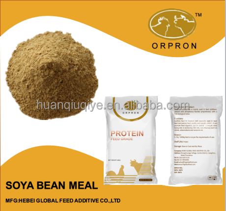 Feed Protein Soya Bean Meal 46%/48% China Supplier