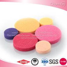 Wholesale Korean Cosmetics Natural Facial Cleansing Latex Free Facial Sponge