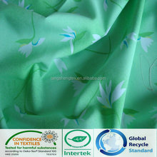 2014 new popular 100%recycled polyester micro twill peach skin fabric