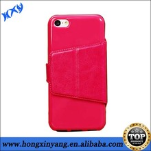 HXY cheap wallet pu leather cell mobile phone case