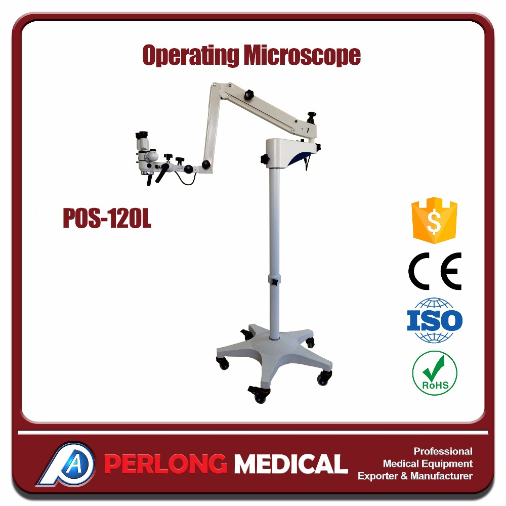 Operating Microscope POS-120L Portable and easy operation neurosurgery microscope china
