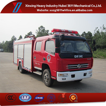 Hot Model 4*2 Euro4 4000L Dual Type Water Foam Fire Fighting Truck