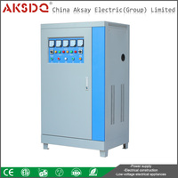 Hot SBW 100kva Three Phase Full Automatic Servo Motor Intelligent Factory Voltage Stabilizer Made In China