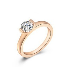 Fashion engagement ring in 916 gold NSRI-8670