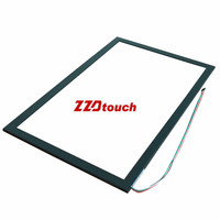 "2018 best price lowest shipping fee 19"" inch Infrared multi touch screen frame/IR touch panel for PC Monitor/Tablet/Kiosk"