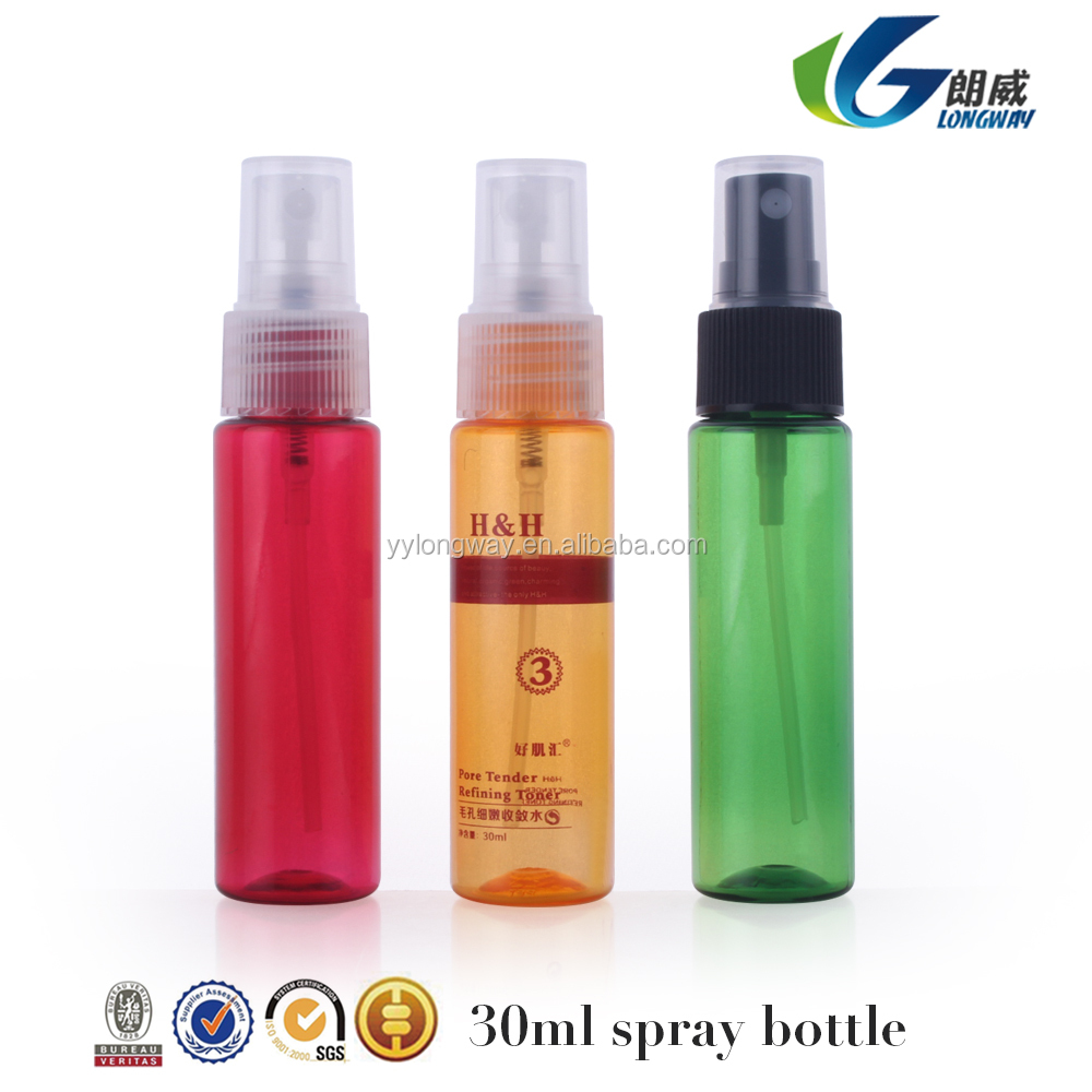 Luxury Colorful Cosmetic Skin Cream bottles For Personal Care PET wholesale plastic water bottles