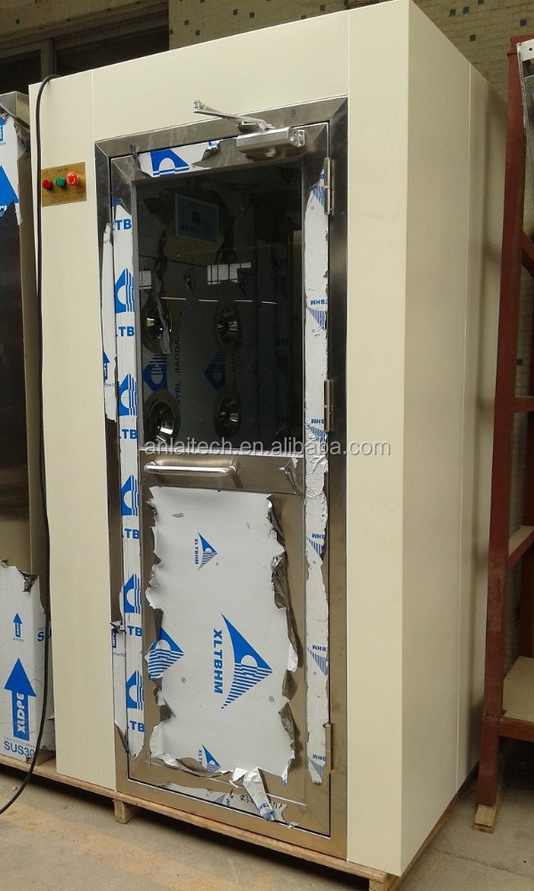 Microelectronics Locker Control System Clean Room Air Shower For Bio Pharmaceutical Workshop