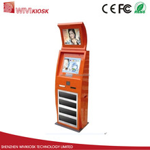 19inch self service payment kiosk with a4 printer