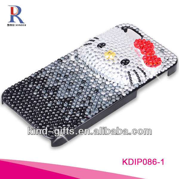 Bling Rhinestone Design Cool Cell Phone Cases For Iphone5C 5S China Supplier