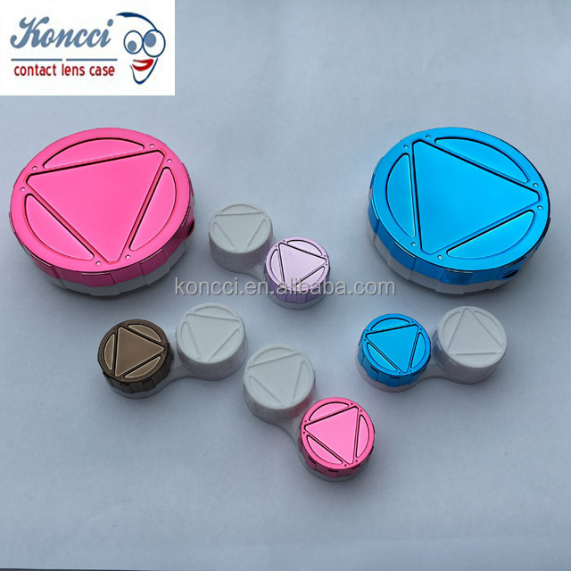 noble upmarket high-grade contact lens cases factory manufacturer excellent quality contact lens box A-311