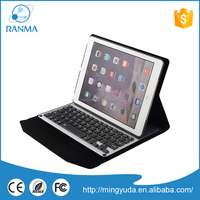 Universal tablet pc protector aluminum bluetooth keyboard with case