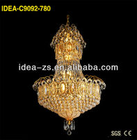 egyptian crystal pendant factory roof lights decorative light with pineapple