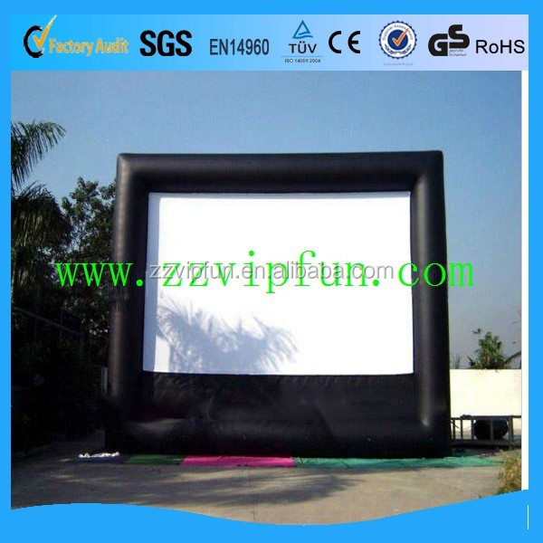 Advertising inflatable cinema screen for sale